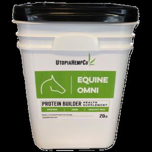 equine hemp protein supplement
